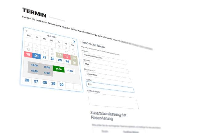 Click & Collect – Online-Terminbuchung für Ihre Kunden